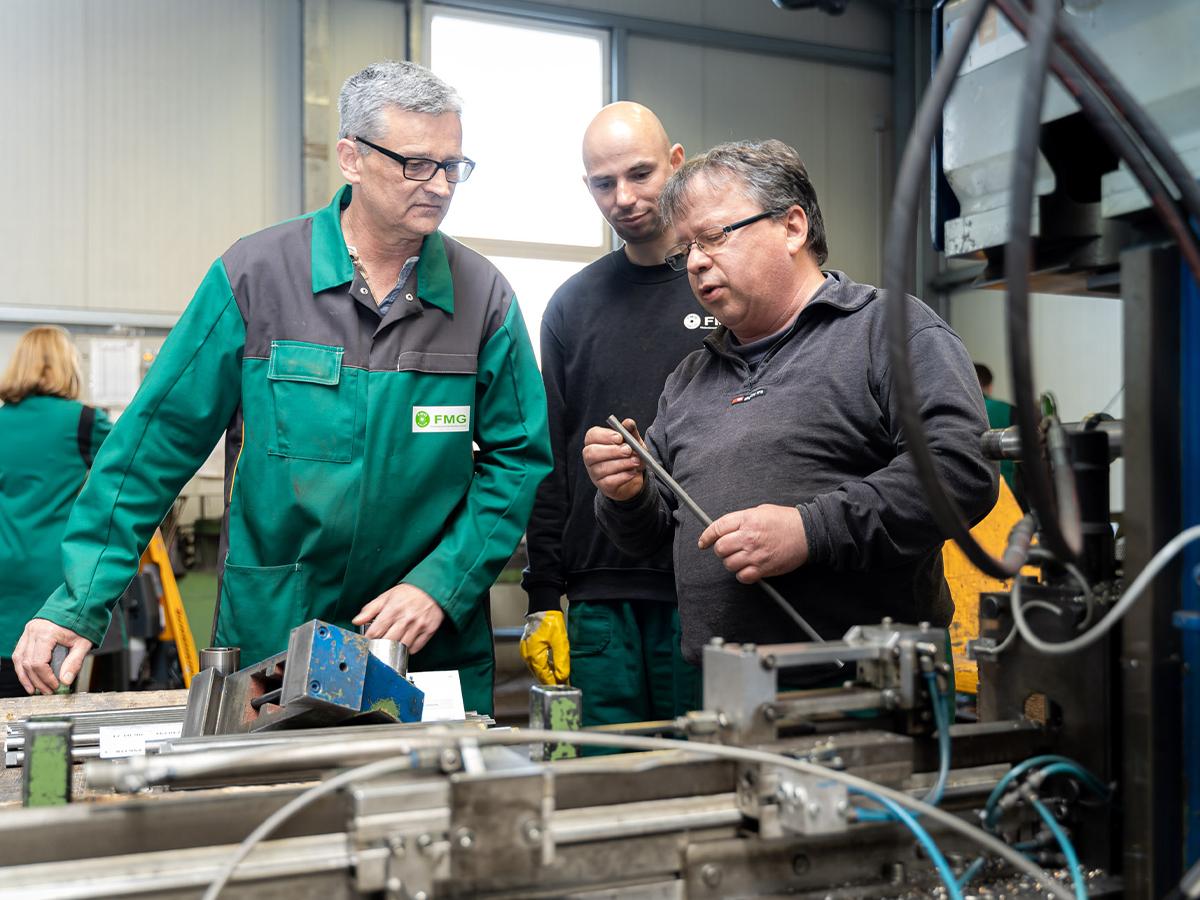 Produktionsleitung - FMG Förderelemente Mecklenburg GmbH
